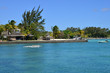 picturesque area of La Pointe aux Canonniers in Mauritius Repu