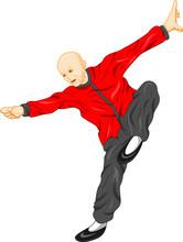Shaolin Monk Kung Fu Martial A...
