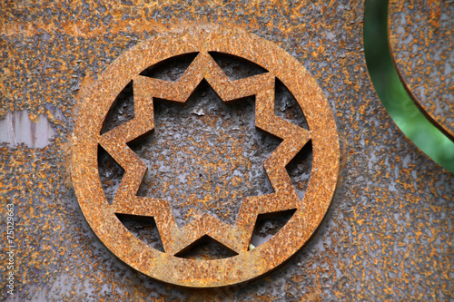 Fototapeta  Symbol des Bahaitum