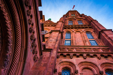 Looking Up At The Smithsonian ...