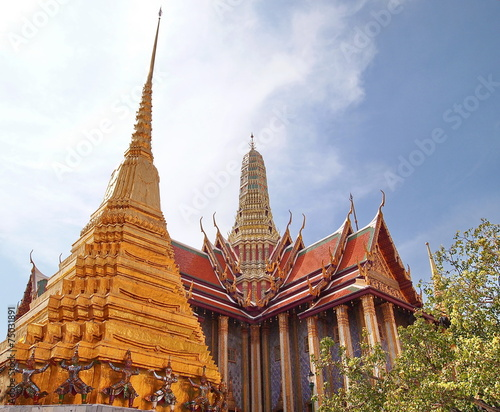Deurstickers Temple Temple of the Emerald Buddha at Wat Phra Kaew Bangkok