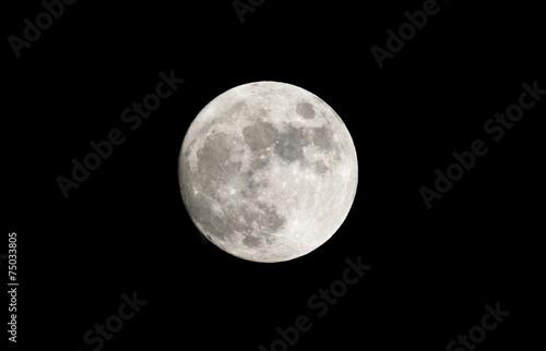 Photographie  Pleine lune
