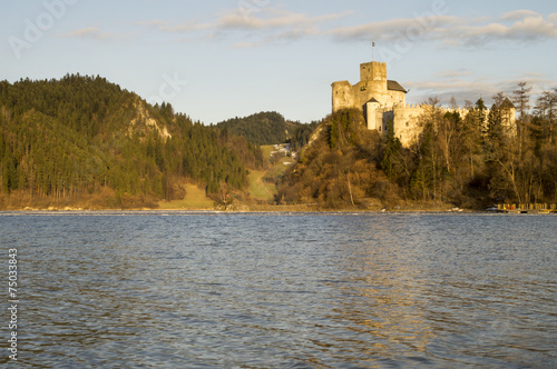 panorama zamku w Niedzicy