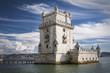 canvas print picture - Torre de Belem in Lissabon