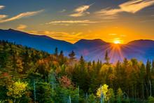 Sunset From  Kancamagus Pass, ...
