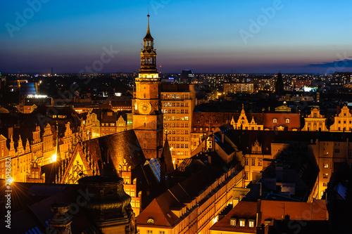 Fotografia  Wrocław nocą