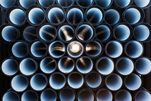 Background Of Colorful PVC Pipes