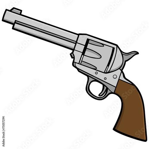Fotografie, Obraz  Western Revolver