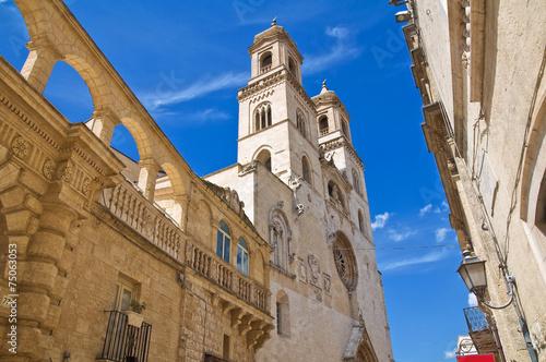 Photo Duomo Cathedral of Altamura. Puglia. Italy.