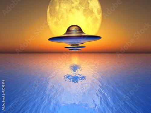 Photo sur Toile UFO U F O s