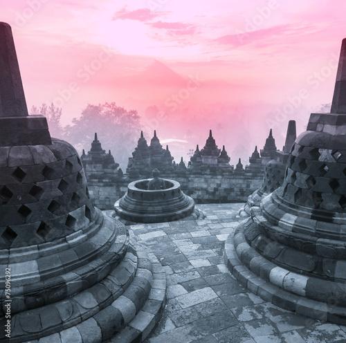 Foto op Plexiglas Bedehuis Borobudur