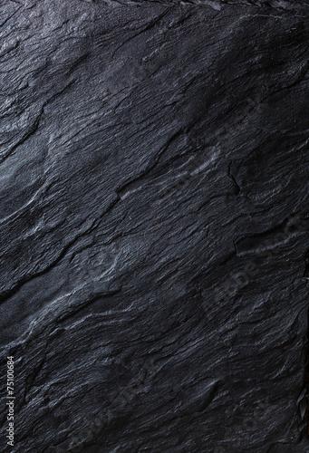 Tuinposter Stenen black stone