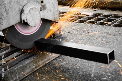 Fotografie, Obraz  Machines for metal cutting