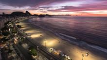 Sunrise At Copacabana Beach, R...