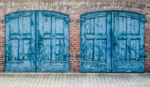 Rustic Heavy Wooden Doors