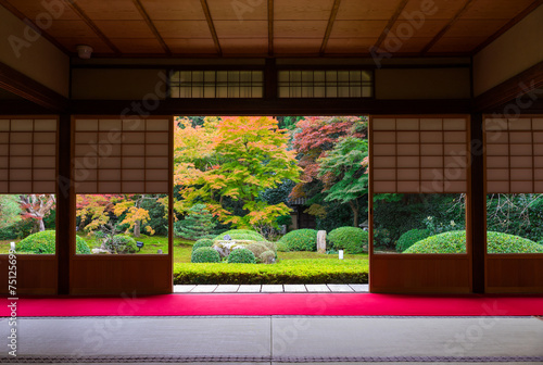 Canvas-taulu 日本庭園