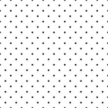 Tile Vector Pattern Black Polk...