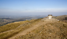 Malvern Hills Toposcope Marking Queen Victoria's Diamond Jubilee