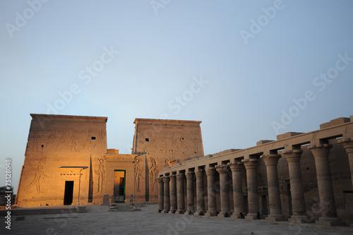 Fotografia, Obraz  Egypt Temple of Philae