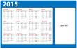 Kalender Vorlage 2015