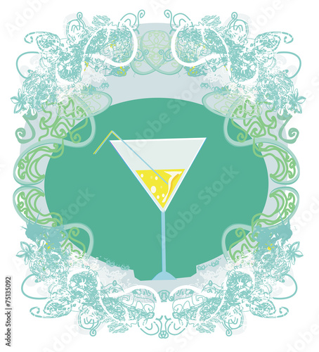 Cocktail Party Invitation Card Buy This Stock Illustration