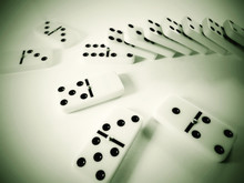 Domino Effect.  The Falling Domino Principle.