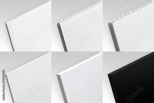 Matériaux - collection 3 Canvas Print
