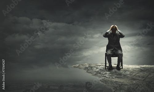 Fototapeta  Failure in business
