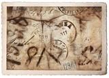 antica cartolina postale