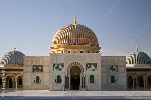 Deurstickers Tunesië Bourguiba Moschee, Monastir, Tunesien