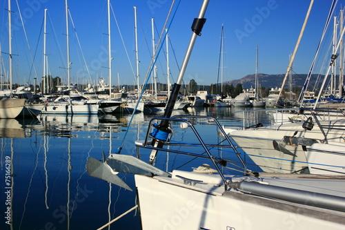 Foto op Plexiglas Water Motor sporten marina