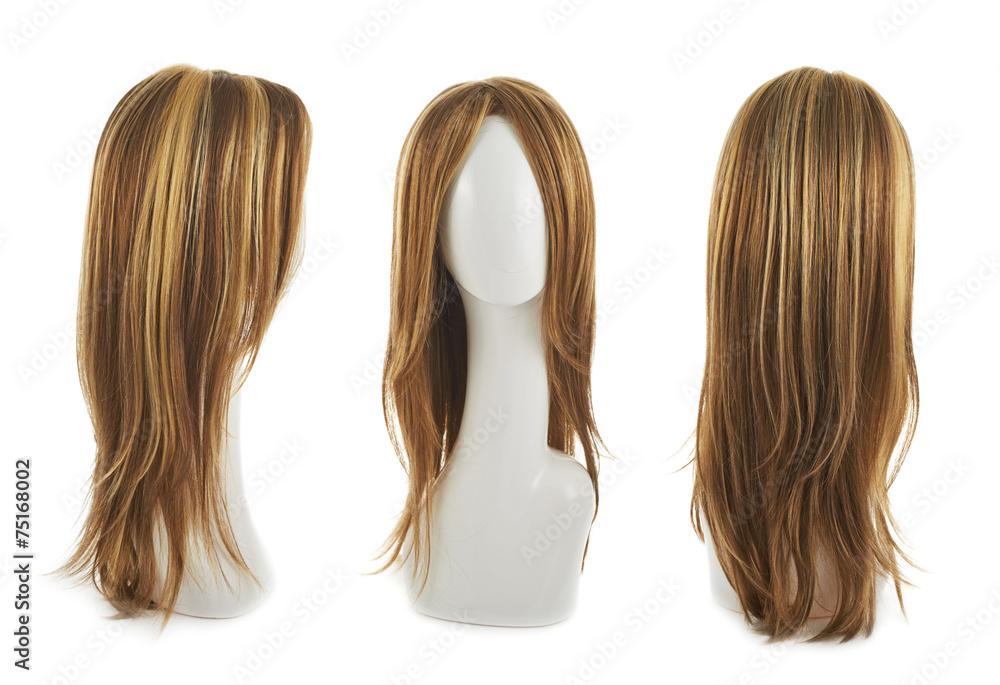 Fototapeta Hair wig over the mannequin head