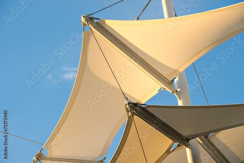 Fotografie, Obraz  Shade Sail Structure