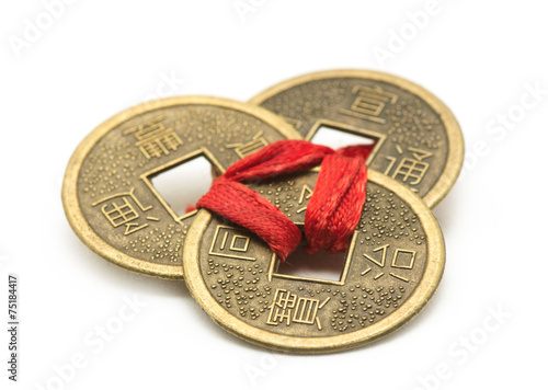 Fotografering  Chinese Ancient Coins
