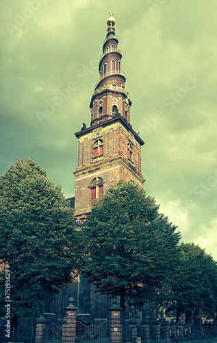 Church of Our Saviour in Copenhagen Poster