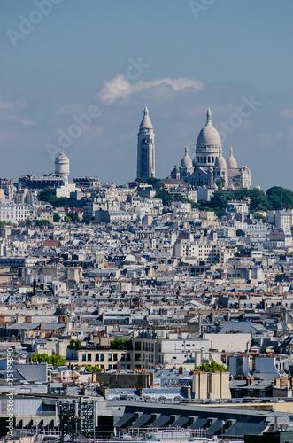 Photo  Sacre Coeur view