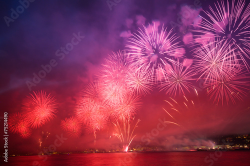Fotografía  Havai fişekli kutlama
