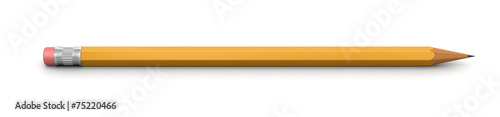 Pencil (clipping path included) Fototapeta
