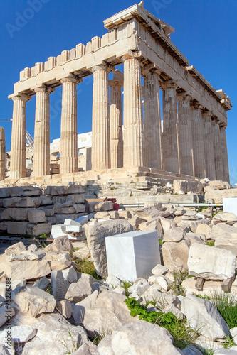 Fotobehang Athene Akropolis in Athen