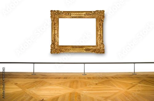 Fotografía  quadro vuoto al museo
