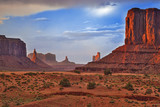 Renowned Buttes of Monument Valley in Utah State, United States