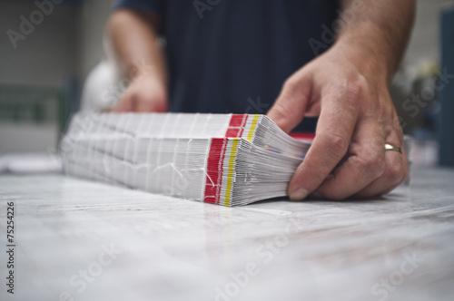 Fotografia, Obraz  bookbinding
