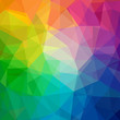 canvas print picture - Colorful abstract vector background