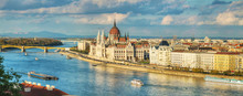 Panoramic Overview Of Budapest