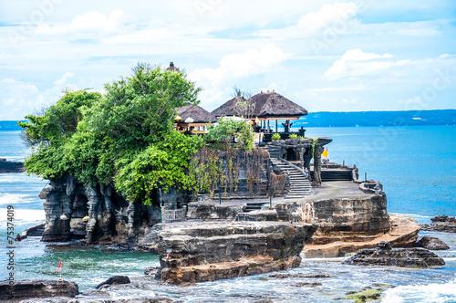 Foto op Aluminium Bali Tanah Lot means