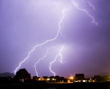 Lightning Over Hartbeespoort