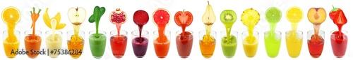 Poster Sap fresh juices