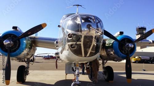 Poster Helicopter World War 2 Vintage Bomber