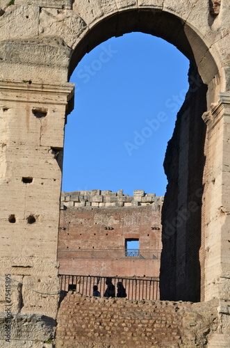 Fotografia, Obraz  Coliseum, also known as the Flavian Amphitheatre, Rome, Italy