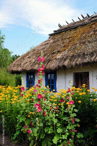 Fototapeta Tradycyjna osada wiejska na podlasiu 3 obraz